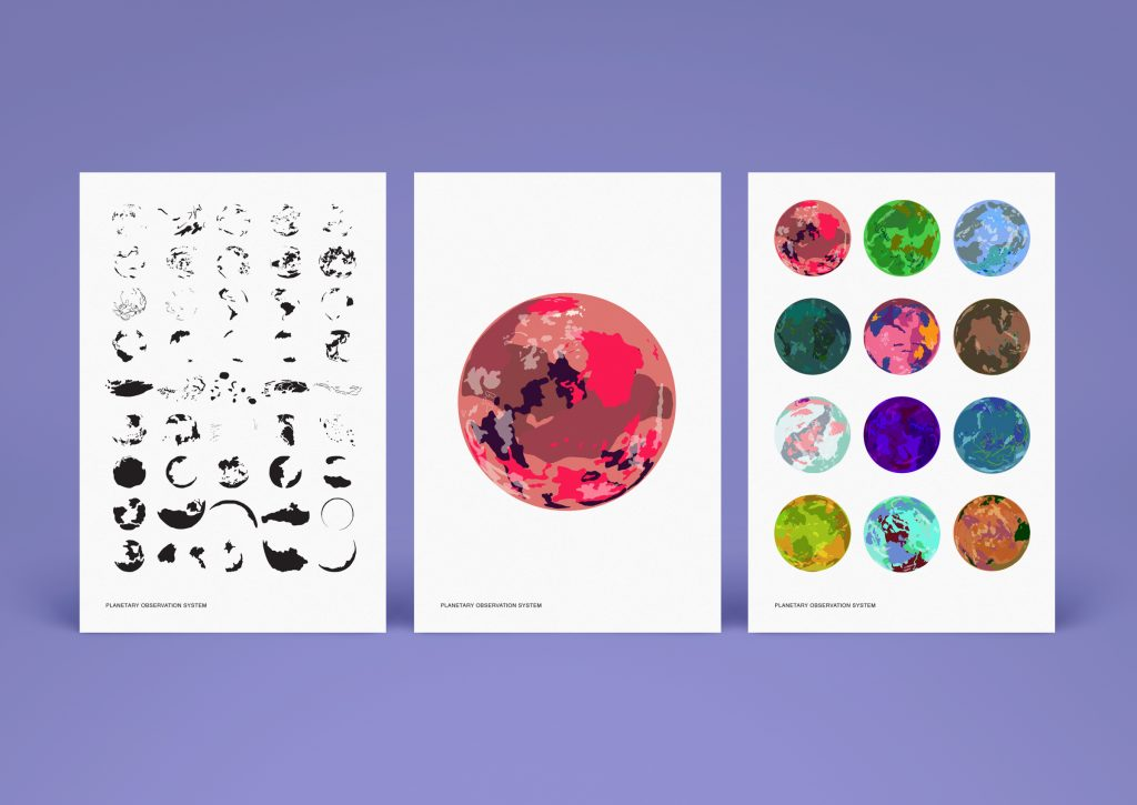 Jadon Ulrich - Planetary Observation System - 4x6 Giclée art prints