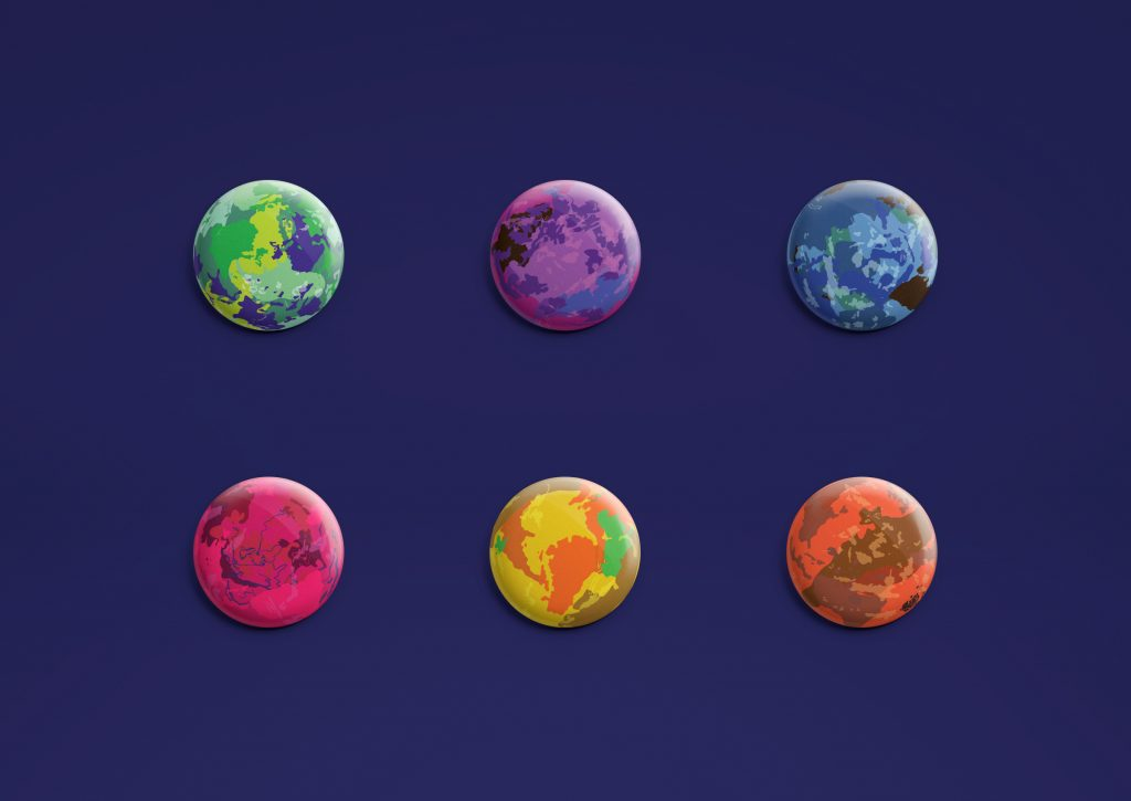 Jadon Ulrich - Planetary Observation System - buttons