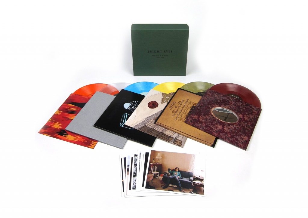 Bright Eyes - The Studio Albums - LP Box set packaging and vinyl
