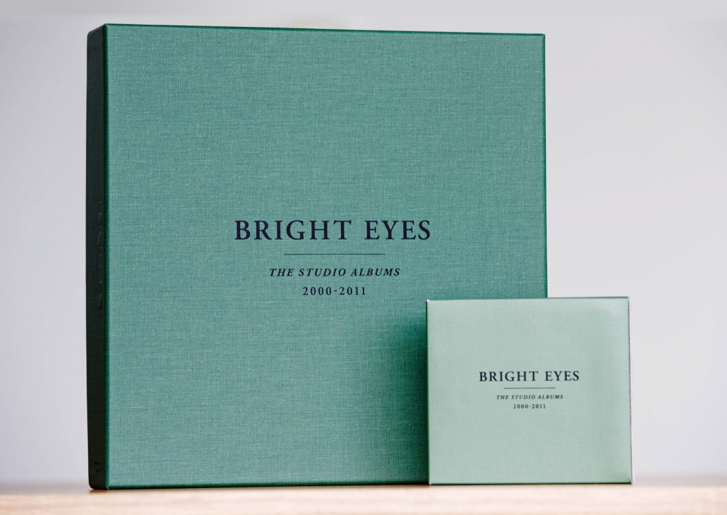 Bright Eyes - The Studio Albums - Box set packaging