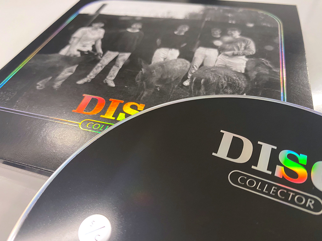 Disq - Collector - CD packaging holographic foil photo