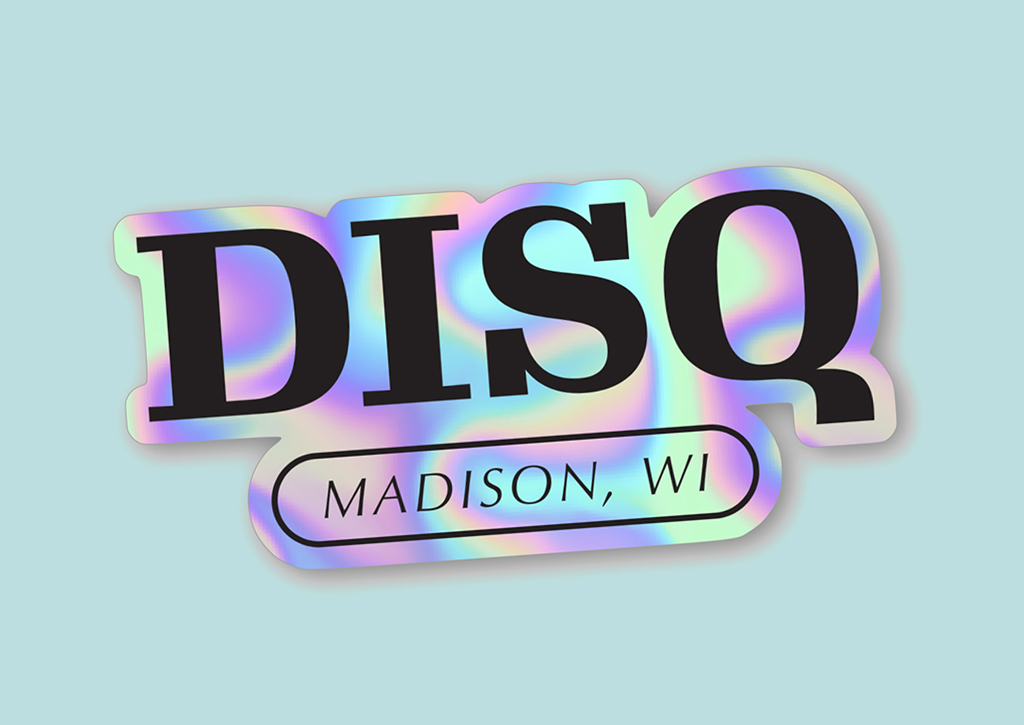 Disq - Collector - holographic foil sticker