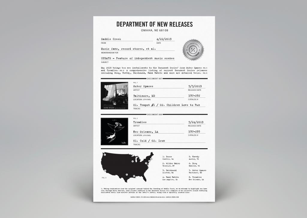 Document Series poster design
