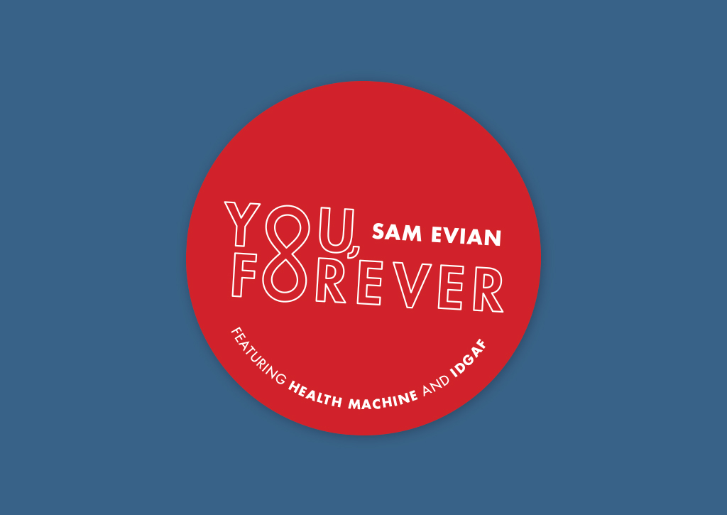 Sam Evian - You, Forever logotype branding design
